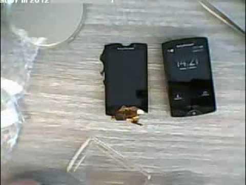Sony Ericsson Xperia Mini Pro SK17i rozebrání výměna LCD dotyková jednotka
