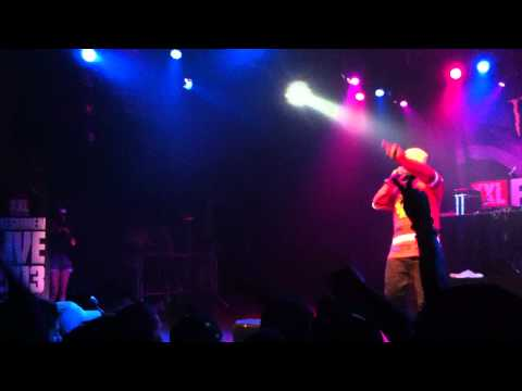 SchoolBoy Q at Best Buy Theater XXL Freshmen Tour 2013 performing