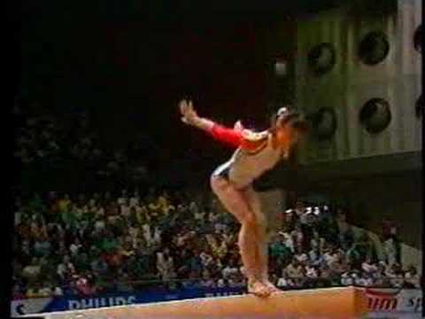 Aurelia Dobre 1987 World Championship AA Beam
