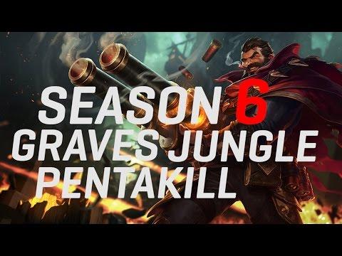 Nightblue3 - SEASON 6 GRAVES JUNGLE PENTAKILL