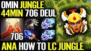 HOW TO JUNGLE IN 7.21 Dota 2!! Legion Commander Farmming Skill by ANA