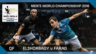 Squash: Gawad v Matthew - Men's World Championship 2016 QF Highlights