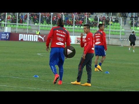 Así fue el duelo entre  Arturo Vidal y Alexis Sánchez / 2014