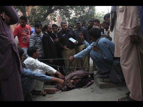 In Lahore, Pregnant Pakistani woman stoned to death (Farzana Iqbal 25ys)   YouTub