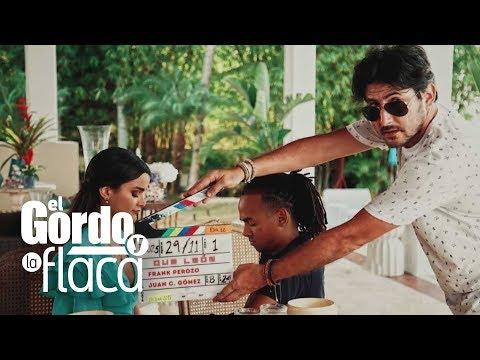 Las fotos de Clarissa Molina con Ozuna en el detrás de cámaras de la película 'Qué León' | GYF