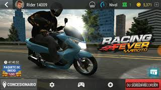 Game play Racing Fever Moto Android