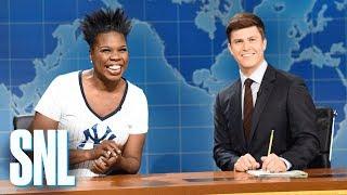 Weekend Update: Leslie Jones on Baseball - SNL