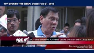 105.9 BALITA FM Top Stories (October 25-31, 2015)