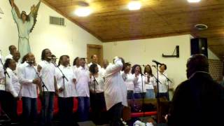 New Years Praise 2012  SUNDAY (I wanna say Thank You)