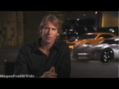 Michael Bay Talking about Megan Fox