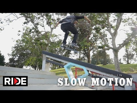 Mike Piwowar Skateboarding in Slow Motion