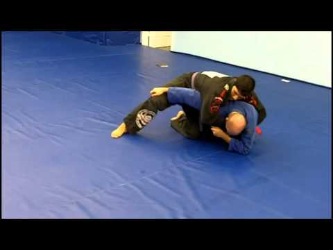 Brazilian Jiu-jitsu Turtle Guard sweep