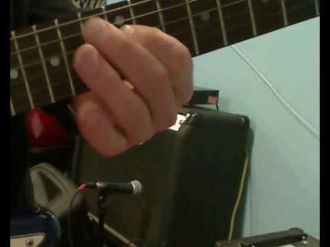 Kurs Gry Na Gitarze Elektrycznej - Materiał Do Lekcji 3. Zagrywki Do Akordu G-dur I Ich Modyfikcje.