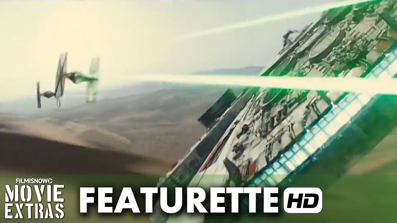 Star Wars: The Force Awakens (2015) Featurette - IMAX