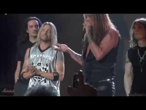 "Sebastian Bach ""YOUTH GONE WILD""  M3 Rock Festival 2014"