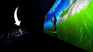 World's Biggest Fortnite Setup - IMAX Edition