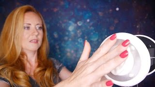💜❤︎ Binaural ASMR Mic Triggers #1 - Massage Stroking The Ears ❤︎💜