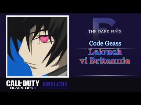 Black Ops 2 Emblem - Lelouch vi Britannia ( Code Geass )
