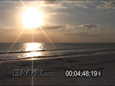 1/27/2006 Siesta Beach, Sarasota Florida Footage