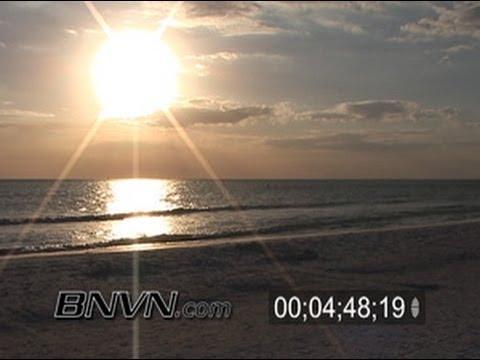 1/27/2006 Siesta Beach, Sarasota Florida Footage