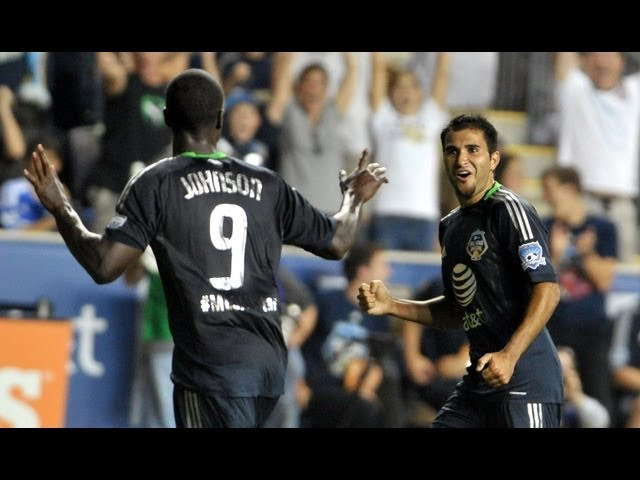 GOAL: Eddie Johnson's stoppage time winner