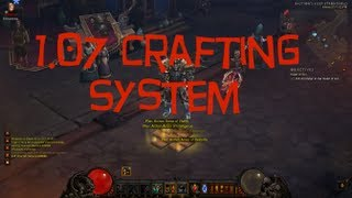Diablo 3 - 1.07 New Crafting System