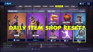 Fortnite Battle Royale Daily Item Shop Update Thursday 15th November-NEW PICKAXE NIGHT SLICER and...