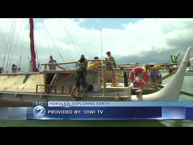 Hokulea's worldwide voyage includes culturally significant stops