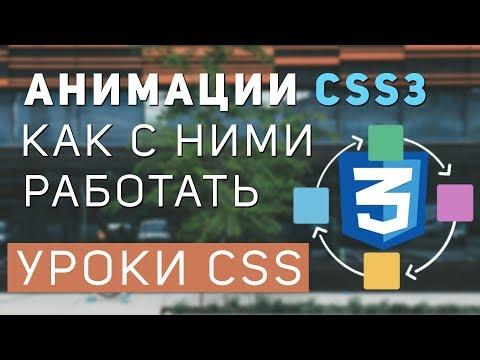 Уроки CSS: Анимации css. Все про анимации css.