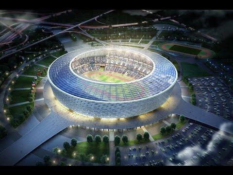 CTV.BY: Баку: Журналистам показали спортивные объекты первых Европейских игр-2015