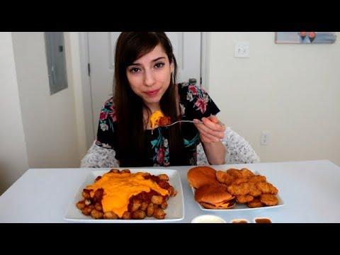 Chili Cheese Tots + McDonald's Mukbang thumbnail