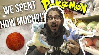 WE SPENT $350 at a POKEMON CENTER in JAPAN... - Pokemon Center Mega Tokyo