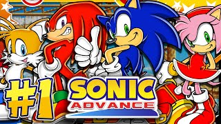 Sonic Advance GBA - Part 1 Neo Green Hill Zone