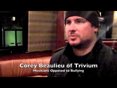 Corey Beaulieu of Trivium Speaks About Bullying
