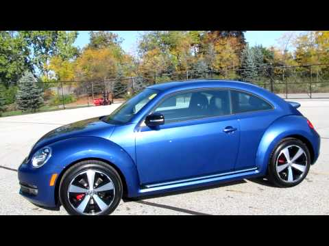 2012 Volkswagen Beetle Turbo - Reef Blue!!!