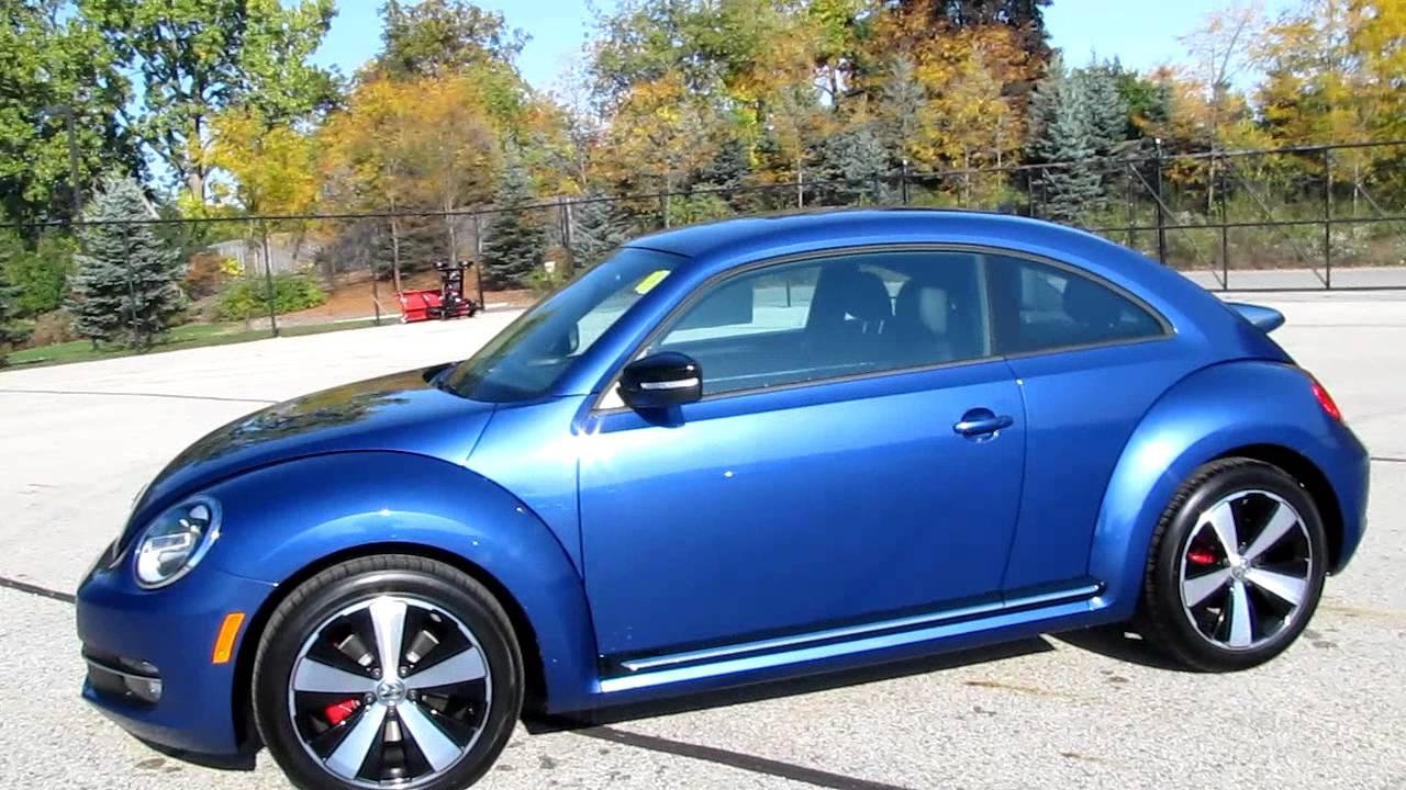 2012 Volkswagen Beetle Turbo - Reef Blue!!! - YouTube