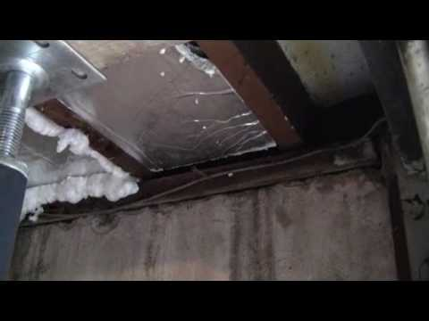 Install Insulation Board In Garage Ceiling Flv Youtube