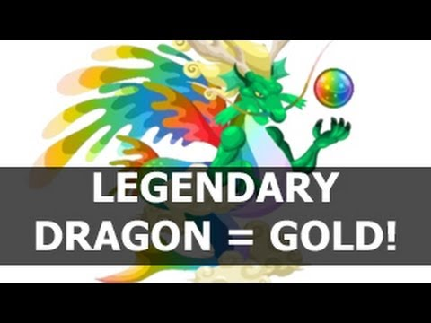 Dragon City LEGENDARY DRAGON - The Best Dragon to Make a Lot of Money in Dragon City