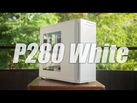Antec P280 White Window case Review