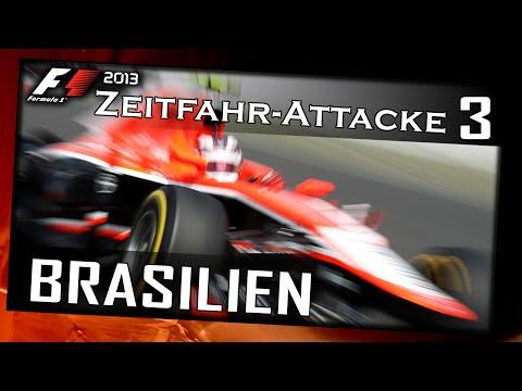 Let's Play F1 2013/Zeitfahr-Attacke #003 Brasilien & USA[German|HD+|PC] Was bringt Zeitfahren?