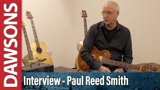 Interview With Paul Reed Smith Paul Miles Dawsons Music