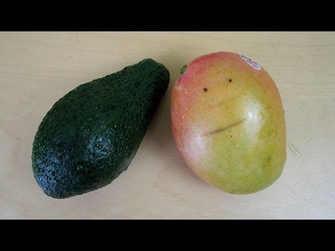 Mango & Avocado Fruit Unboxing