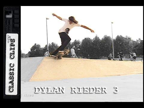 Dylan Rieder Skateboarding Classic Clips #250 Part 3