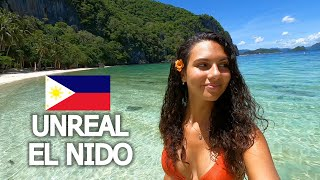 THIS IS WHY YOU TRAVEL THE PHILIPPINES! 🇵🇭 EL NIDO BEACH HOPPING