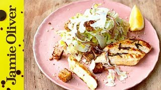 Healthy Chicken Caesar Salad | Jamie Oliver