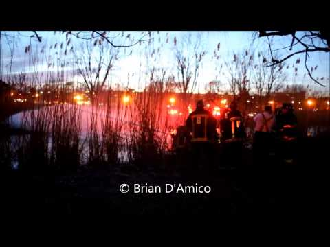 Boston MA - Brush Fire in the Back Bay Fens - 59 Fenway - 4/4/13