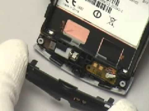 Disassemble Sony Ericsson U5 Vivaz Repair Movie