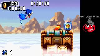 Let's finish up sonic advance 2(Hopefully.) and start sonic advance 3.(Maybe.)