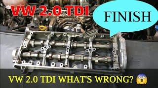 VW SHARAN ENGINE REPLACEMENT WYMIANA SILNIKA FINISH 😜😛😁