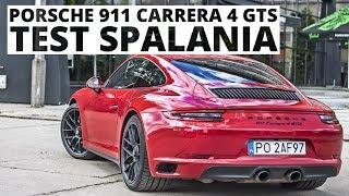 Porsche 911 Carrera 4 GTS 3.0 450 KM (AT) - pomiar zużycia paliwa